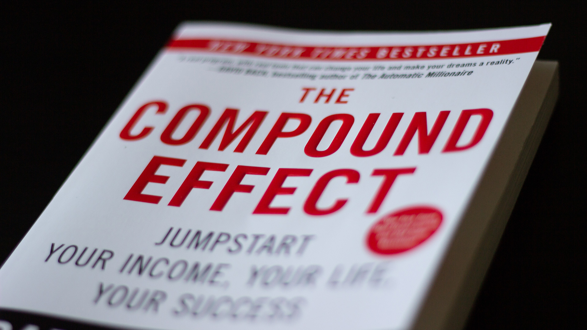 The Compound Effect – Book Review