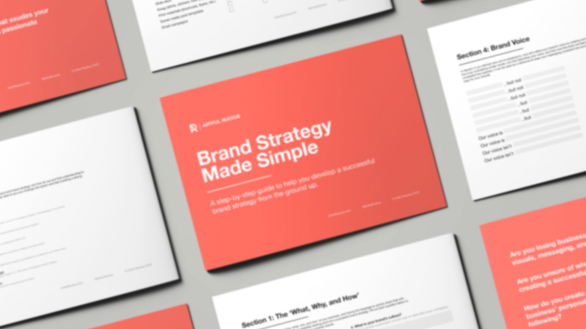 Brand Strategy Made Simple: Free Step-by-Step Guide